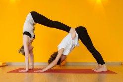 Les Postures De Yoga A Deux Sont Une Maniere Unique Particuliere Pratiquer Le Attire Plus En Personnes Car Il Est