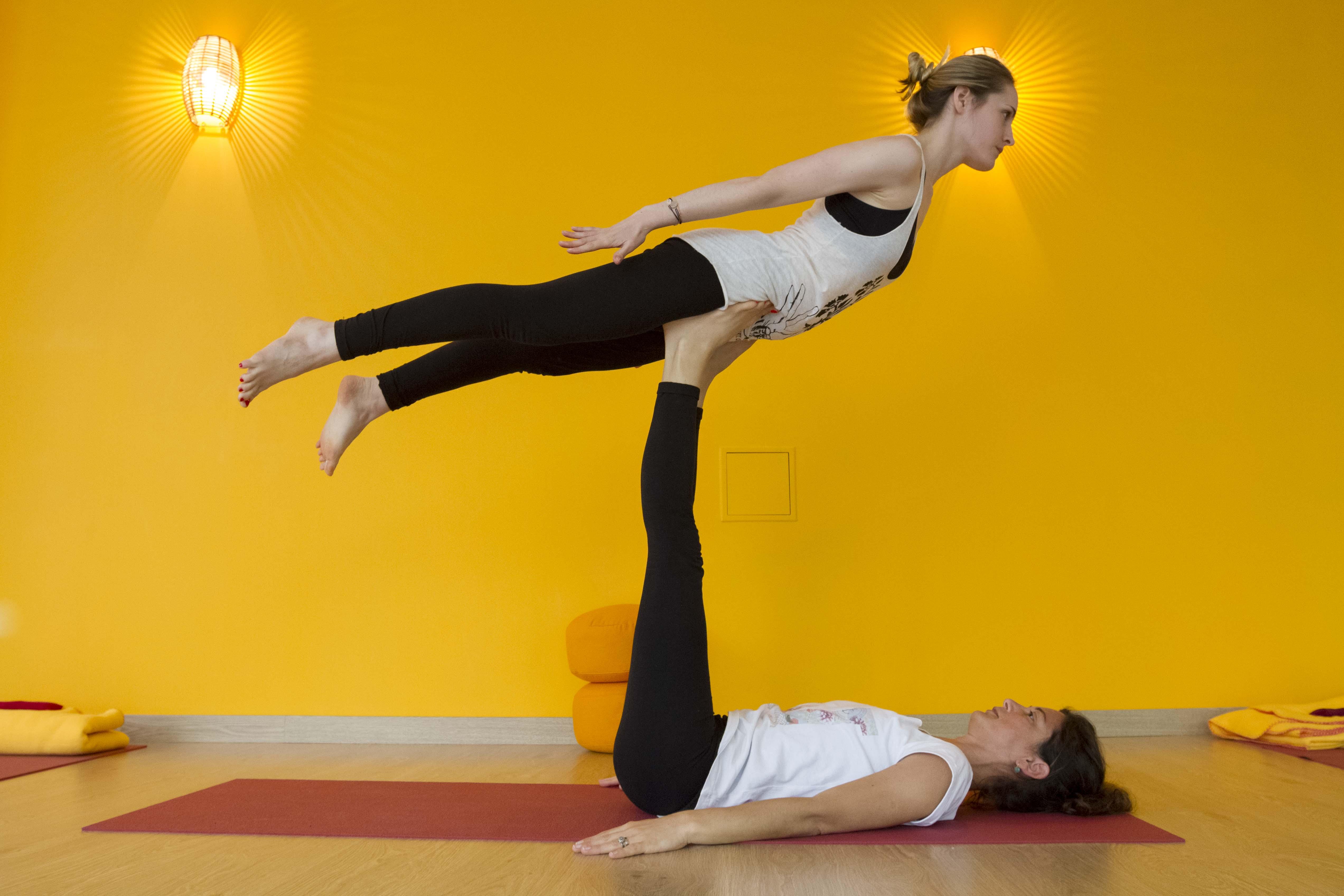 YOGA A DEUX Celine Fayard Yoga