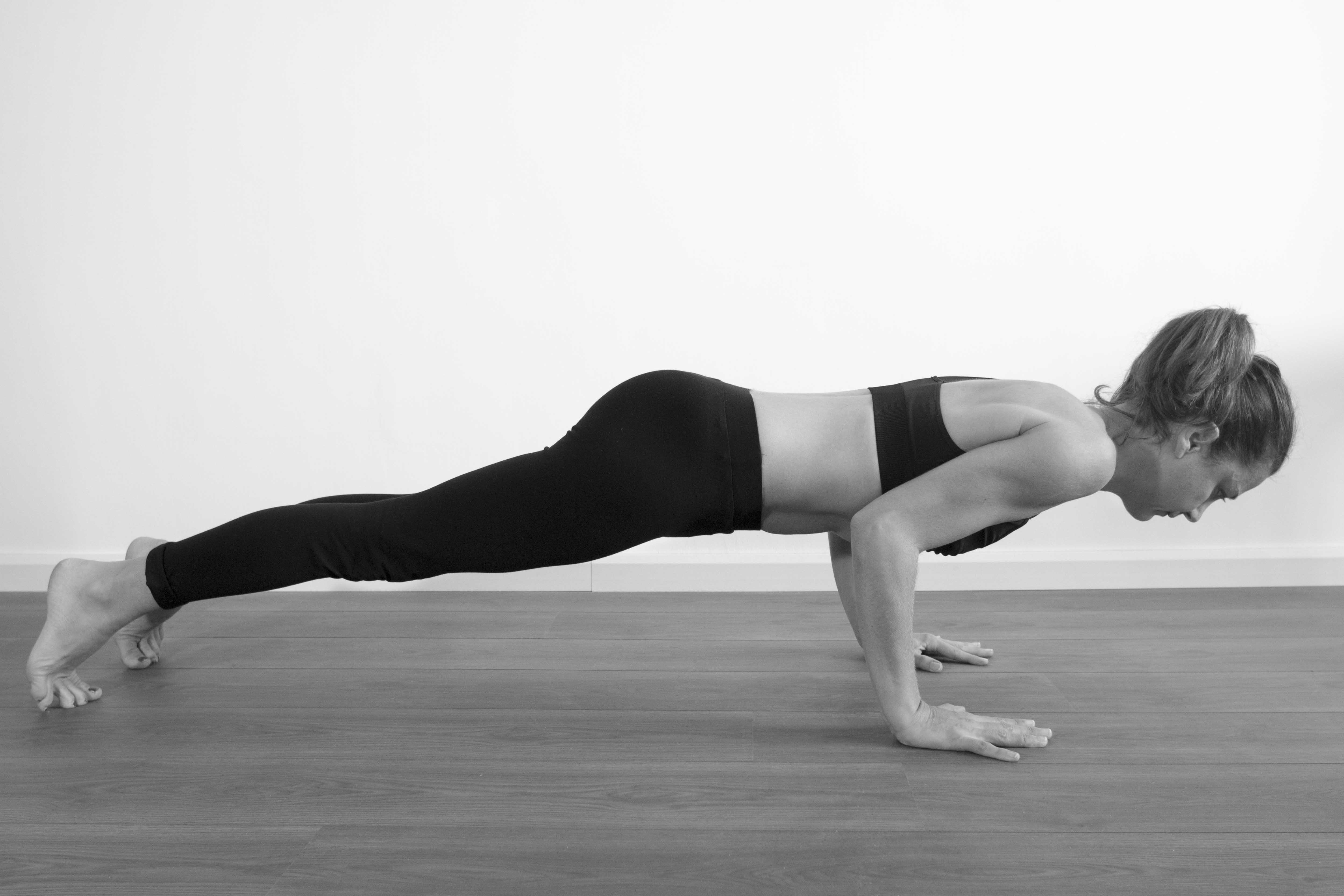 Chaturanga Dandasana Celine Fayard Yoga